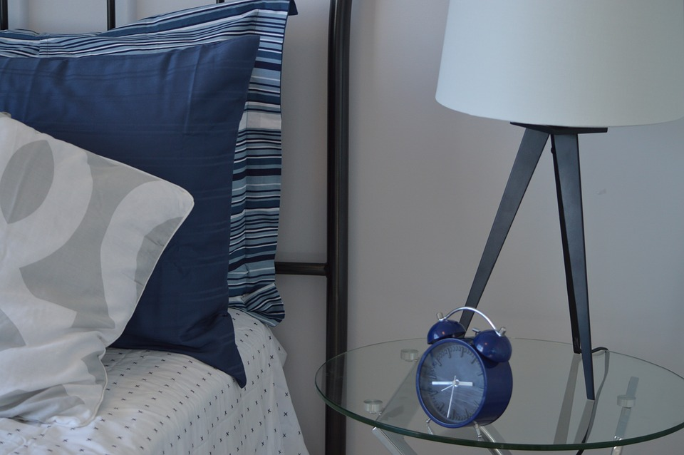Het aankleden van een slaapkamer