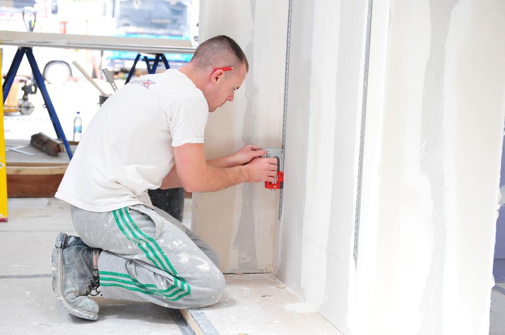 Maak een huis echt af door elke muur te stuken