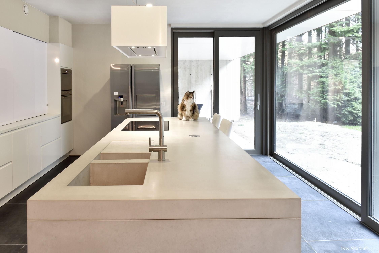 Beton in de keuken