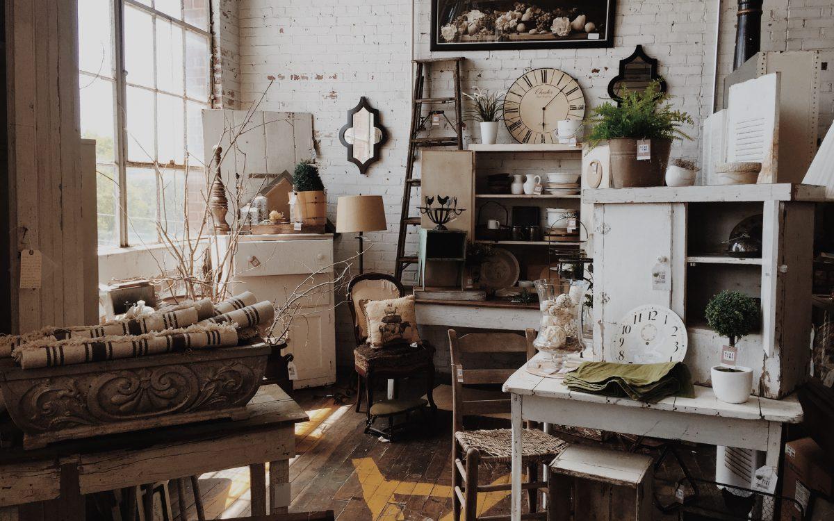 Zo geef je je interieur een vintage look